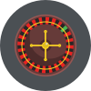 Online roulette icon
