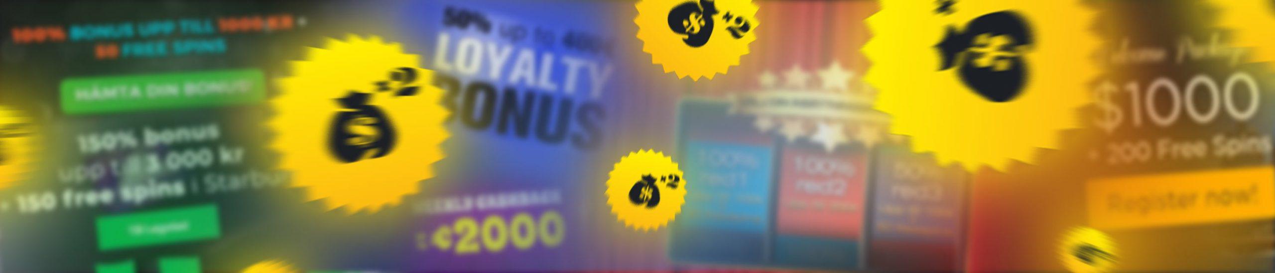 casino utan licens bonus
